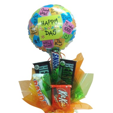 happy-assistant's-day-candy-bouquet